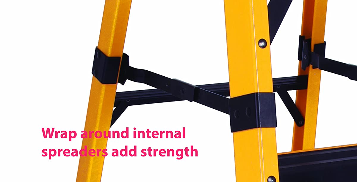 DeWalt DXL3810-06 6-Feet Fiberglass Stepladder Type IAA Manufacture Tested To 500-Pounds, 6-Feet