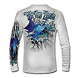 Jason Mathias Strike Zone Sailfish LS High Performance Shirt White (Color: White, Tamaño: 3X-Large)