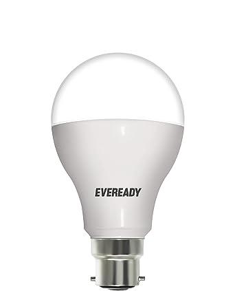 Buy Eveready Base B22D 12-Watt LED Bulb (Pack of 1, Cool Day Light ...:Eveready Base B22D 12-Watt LED Bulb (Pack of 1, Cool Day Light,Lighting