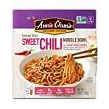 Annie Chun's Sweet Chili Noodle Bowl, Non-GMO, Vegan, 8-oz (Pack of 6), Korean-Style, Instant Asian Ready Meal