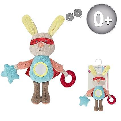 Sucre D'Orge - - Masculin - 1 - jouet eveil supe heros - Taille UNIQUE - Couleur bleu