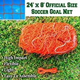 BenefitUSA ZH-0045-OR Portable,Soccer Football-Net, Orange