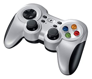 Logitech Gamepad F710 (Renewed) (Color: Silver)