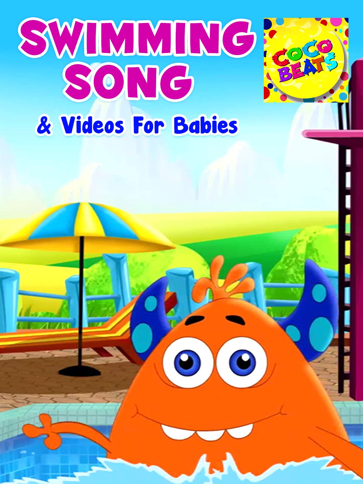 Swimming Song and Videos For Babies - Coco Beats