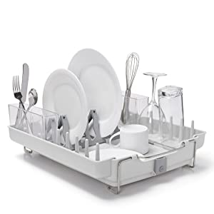 oxo good grips convertible foldaway best dish drying rack review