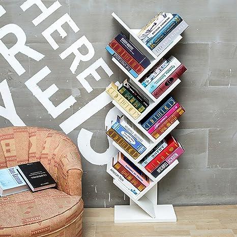 ZMSJ Librería de Escritorio Moderno Niño Sencillo Madera Sólida Estantería de Escritorio Creativo Oficina de Estudiantes Libro de DORMITORIOS Estante de Escritorio ( Color : 3* )