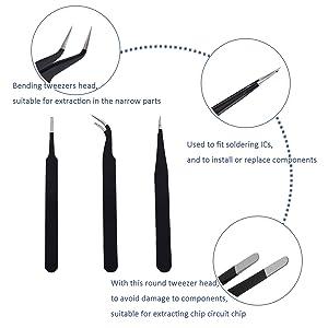 KALAIDUN Repair Tools Kit, Precision Screwdriver Set,Electronic Devices Pry Open DIY Computer Repair Tool Kits for Phones/Computers/PC/Tablets/Pads/iPad Pro/Watch