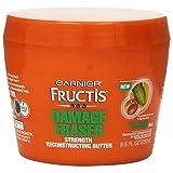 Garnier Fructis Damage Eraser Strength Butter Repairing Rinse-Out Treatment, 8.5 fl. oz. (Tamaño: 8.5 Fluid Ounce)