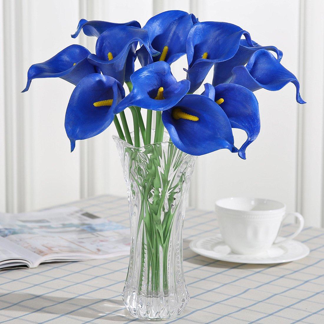 Luyue calla lily bridal wedding bouquet head lataex real touch bouquet head lataex real touch flower bouquets izmirmasajfo