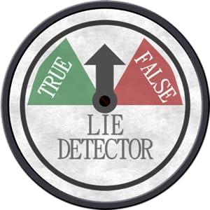 Lie detector wedding