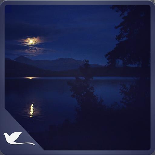 Romantic Night at Lake - Beautiful Blue Lake view