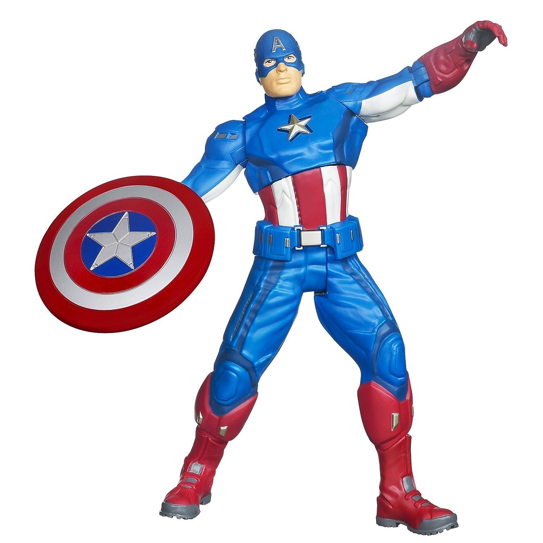 Marvel The Avengers Englisch sprechende Captain America Figur 37495 kaufen