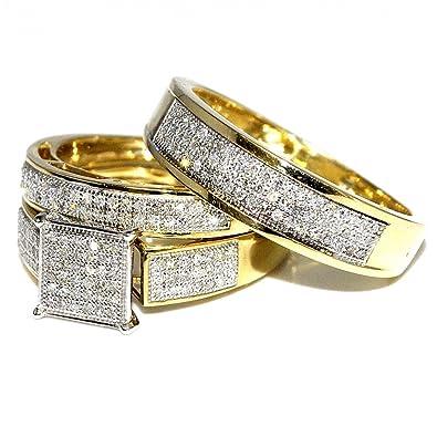 womens yellow gold wedding rings