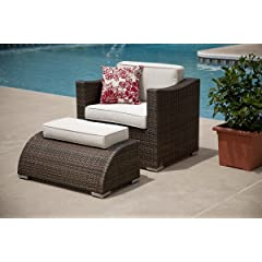 Image of All Weather Wicker Deep Seating Patio Furniture