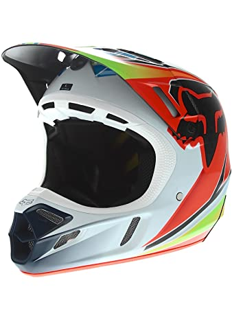 Casque Motocross Fox 2016 V4 Race Bleu-Rouge