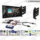 Volunteer Audio Kenwood DDX276BT Double Din Radio Install Kit with Bluetooth, Sirius XM Ready, Touchscreen Fits 2011-2013 Dodge Durango, Jeep Grand Cherokee