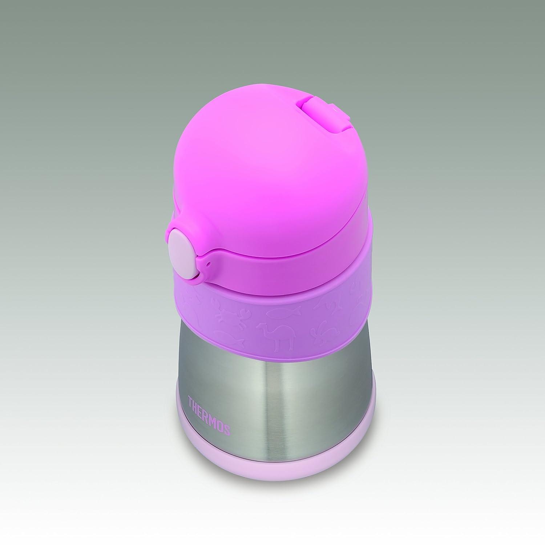 Japanese THERMOS Vacuum Insulation Baby Training Mug Bottle 0.29L Pink FFH-290TM kuroko no basket basuke kagami anime stainless steel vacuum thermos mug cup comics cartoon
