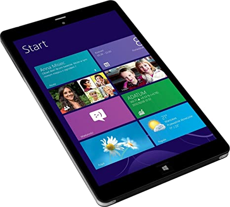 Kiano Intelect 8 MS (Windows 8.1) 3G 16Go / GB noir