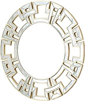 Abbyson Round Wall Mirror