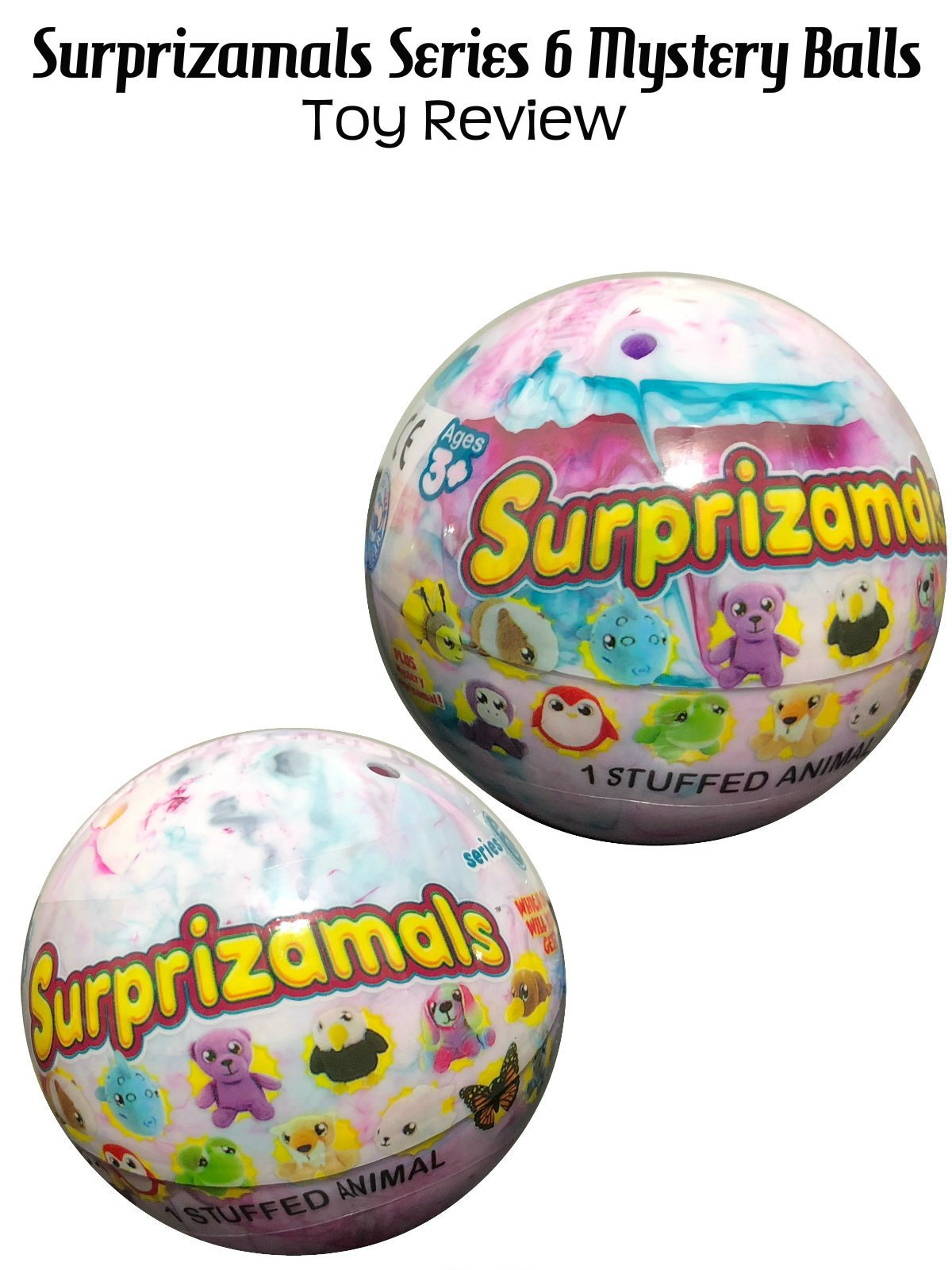 Review: Surprizamals Series 6 Mystery Balls Toy Review