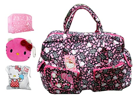 Hello Kitty Travel Tote Bag Shoulder Bag Handbag 21