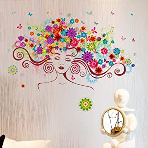 3d Style Fantasy Space Spaceship Earth Milky Way Wall Decal Home Sticker Pvc Murals Paper House