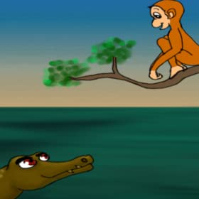 Mr Monkey and Sir Crocodile