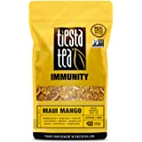 Mango Pineapple Fruit Tea | MAUI MANGO 1 Lb Bag by TIESTA TEA | Caffeine Free | Loose Leaf Herbal Tea Immunity Blend | Non-GMO