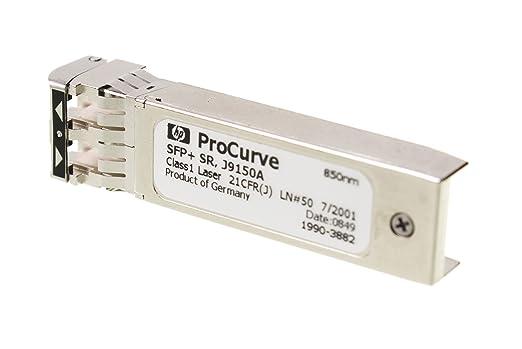 HP ProCurve 10-GbE SFP+ SR Module transmetteur SFP+ 10GBase-SR LC/UPC multimode module enfichable jusqu'à 300 m 850 nm