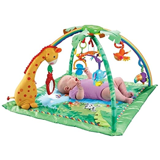 Fisher-Price Rainforest Melodies and Lights Deluxe Gym Review