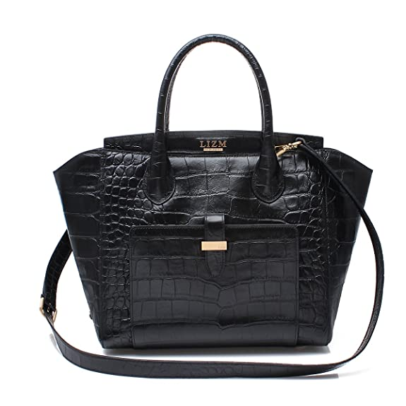 """LizmNew York Women's The Queensway Real Leather Bag - Free Shipping"""