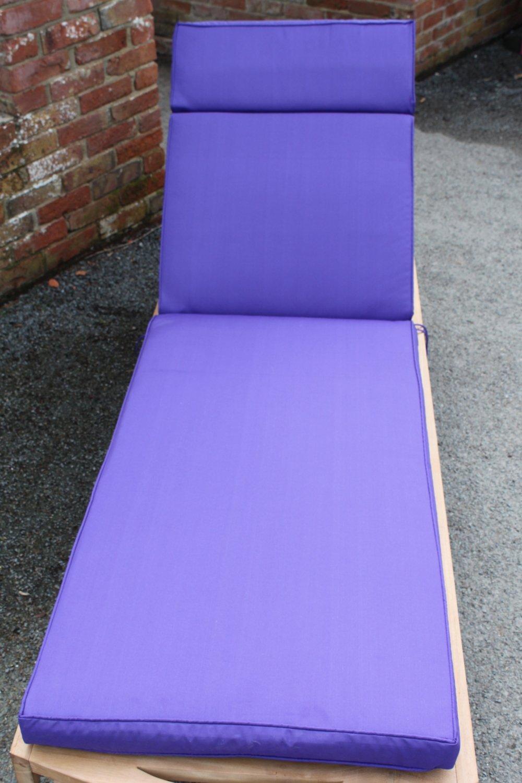 Gartenmöbel-Auflage – Auflage für Gartenliegestuhl in Violett bestellen