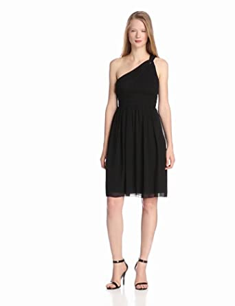 Donna Morgan Women's Rhea Dress, Black, 0