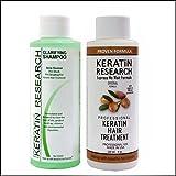 Complex Brazilian Keratin Hair Blowout Treatment Professional Results Straighten and Smooths Hair (CS 120ml + KT 120ml) Queratina Keratina Brasilera Tratamiento (Tamaño: CS120+KR120)