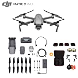 Mavic 2 Pro Drone Quadcopter, Photographer Bundle, with Filter Set (CPL ND8 ND16 ND32), Professional Carrying Case, Landing Pad, Landing Gear and Signal Booster (1X Battery) (Tamaño: 1 X Battery)