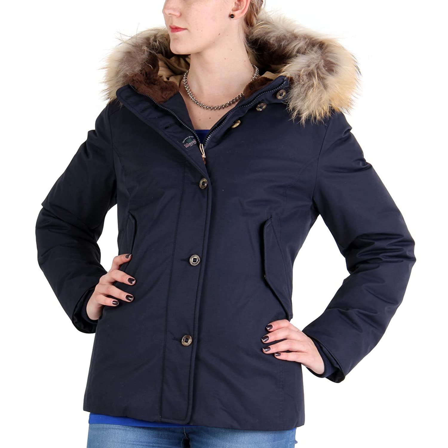 MUSEUM Damen Winter Dauneparka Artic Navy MD19493