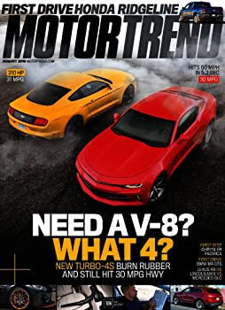4-Yr Motor Trend Magazine Subscription