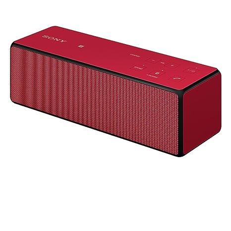 Sony SRSX33R.EU8 Enceinte 20 W Rouge