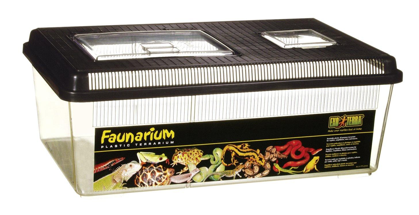 Exo Terra PT2310 Flat Faunarium, Large