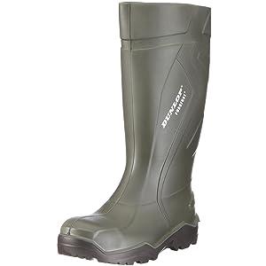 Dunlop S3 Gummistiefel PUROFORT DU762943 Herren Stiefel mit Stahlkappe  Schuhe & HandtaschenKundenberichte und weitere Informationen