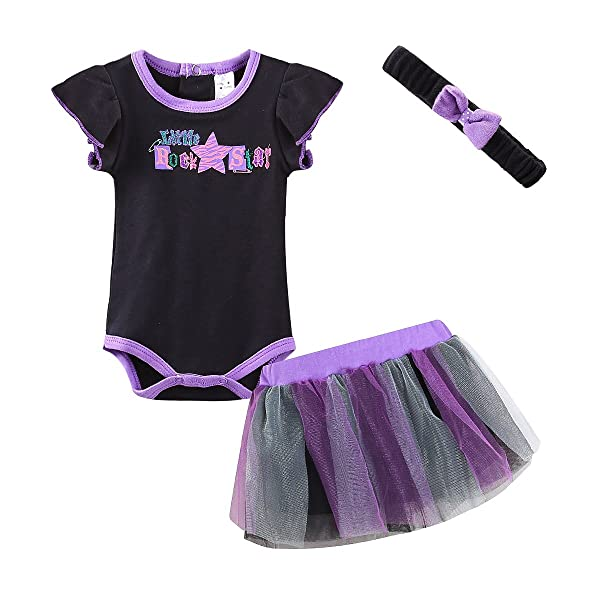 35b19de71e43 Mud Kingdom Cute Thanksgiving Baby Girl Outfits 0-3 Months Clothes ...