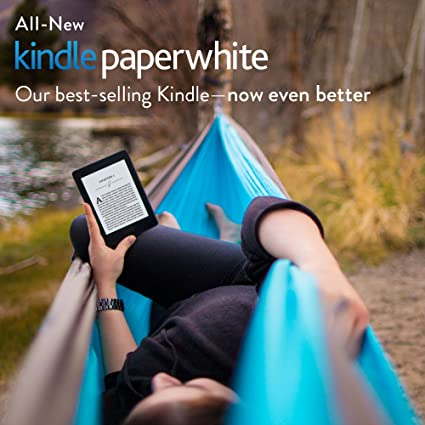 "All-New Kindle Paperwhite, 6"" High-Resolution Display (300 ppi) with Built-in Light, Wi-Fi - Includes Special Offers"