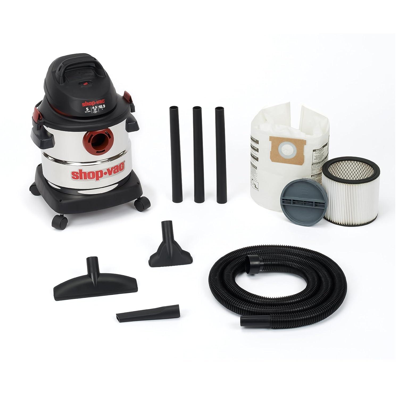 Shop Accessories: Shop-Vac 5986000 5-Gallon 4.5 Peak HP Stainless Steel Wet