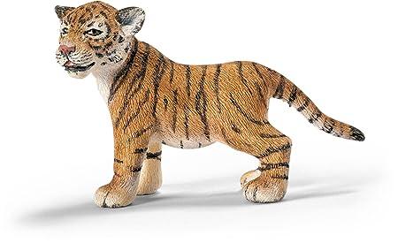 Schleich - 14371 - Figurine - Animaux - Bébé Tigre Du Bengale, Debout