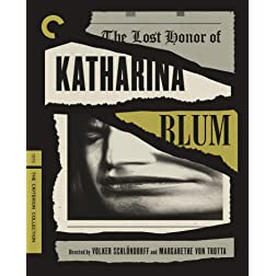The Lost Honor of Katharina Blum (The Criterion Collection) [Blu-ray]