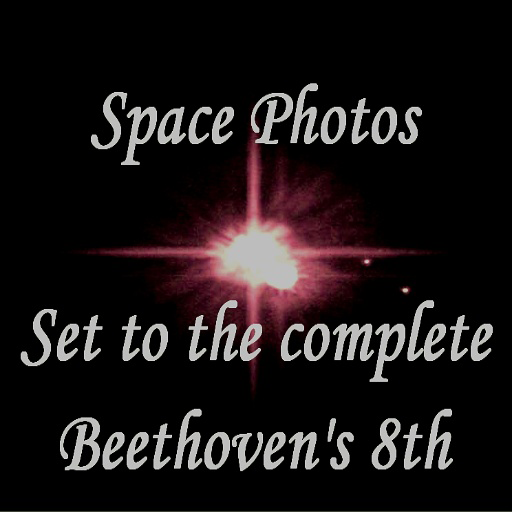 Images From Deepest Space With Music From Beethoven's Symphony Number 8