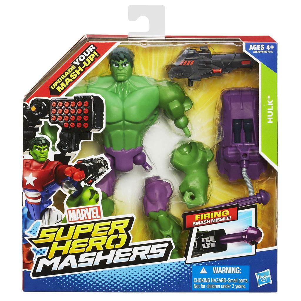 marvel super hero mashers hulk figure 6 inches toys games. Black Bedroom Furniture Sets. Home Design Ideas