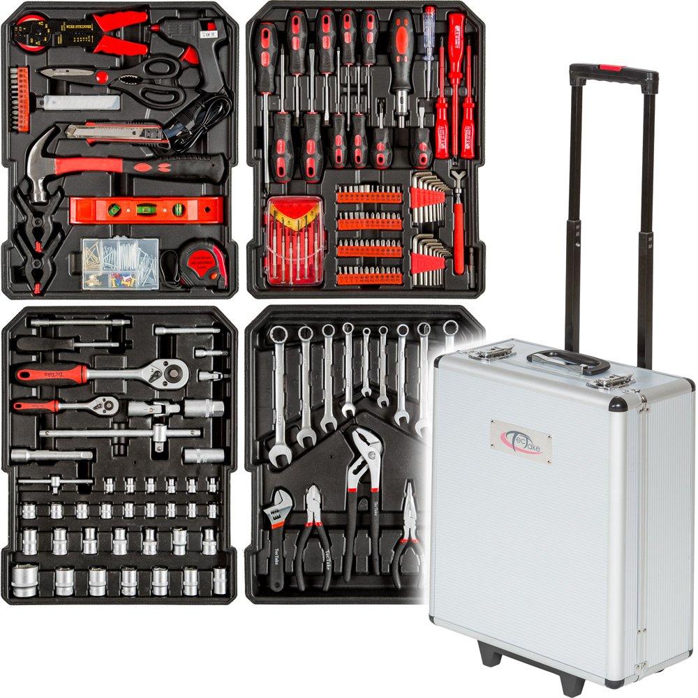 TecTake 266 teiliger Werkzeugkoffer mit Werkzeug bestückt  BaumarktÜberprüfung und Beschreibung