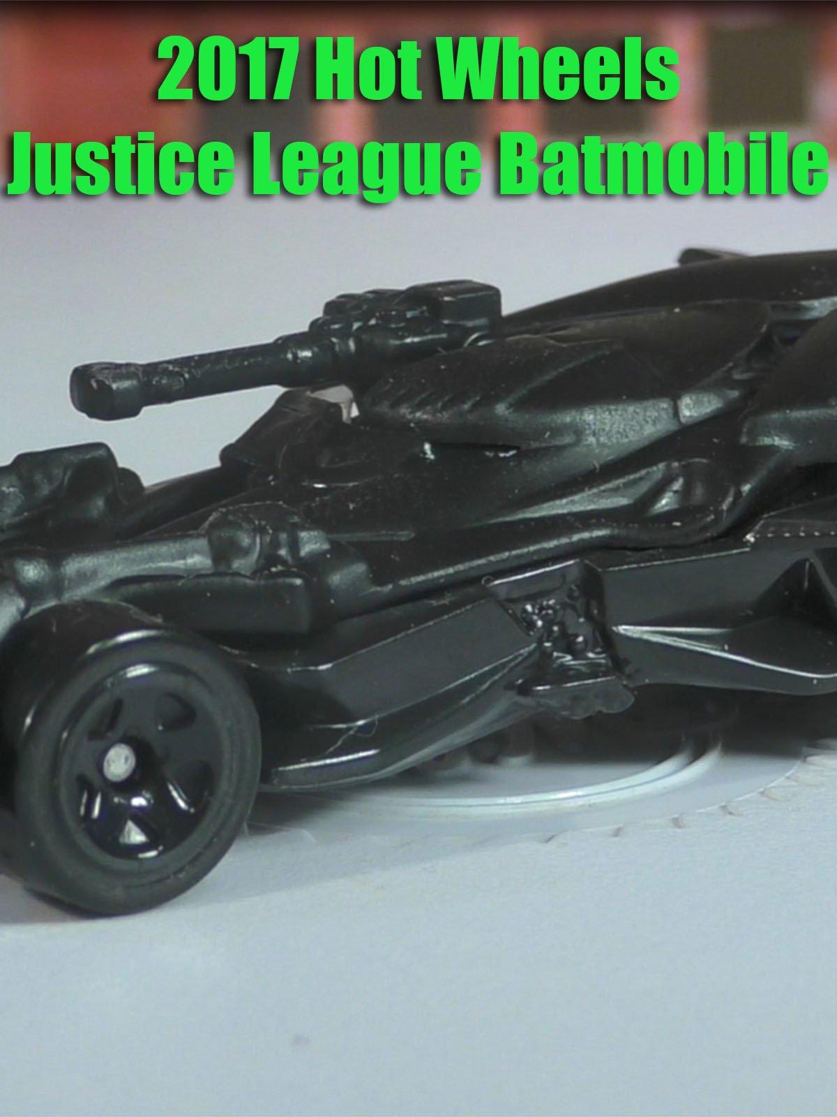 Review: 2017 Hot Wheels Justice League Batmobile on Amazon Prime Video UK