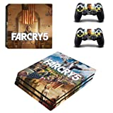 Adventure Games PS4 PRO - Far Cry 5 - Playstation 4 Vinyl Console Skin Decal Sticker + 2 Controller Skins Set (Tamaño: PS4 PRO)
